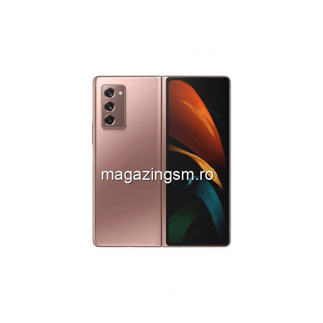 Telefon mobil Samsung Galaxy Z Fold2 Dual SIM 256GB 12GB RAM 5G Mystic Brown IMEI: 354156122394044