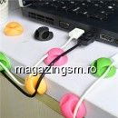 Adaptor Tip Suport Cablu Samsung iPhone Huawei Universal