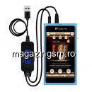 Adaptor Wireless Auto Modulator FM Bluetooth cu functie FM, Micro USB