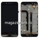 Display Cu Touchscreen Asus Zenfone Go ZC500TG Negru