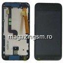 Display Cu Touchscreen Si Rama HTC Desire 601 Original SWAP Negru