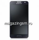 Display Samsung Galaxy A3 SM-A300F Original Negru SWAP