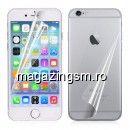 Folie Protectie Display Si Capac Baterie Spate iPhone 6 Plus 6s Plus  Acoperire Completa