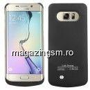 Husa Acumulator Extern Samsung Galaxy S6 Edge Plus G928 4500mAh Neagra
