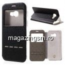 Husa Flip Cu Fereastra Samsung Galaxy A5 A520F Neagra