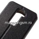 Husa Flip Cu Stand LG Stylus 2 / G Stylo 2 Hollow Series Neagra