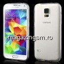 Husa TPU Flexibila Samsung SM-G900I Transparenta