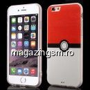 Husa TPU iPhone 6 6s Pokemon Go Pokeball Series