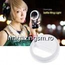 Adaptor Camera tip Lampa LED Selfie Ring iPhone Samsung Alba
