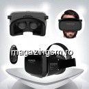 Ochelari 3D Realitate Virtuala iPhone Samsung HTC Nokia LG Smartphone Negru