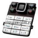 Tastatura Nokia 6300 Originala Argintie Swap