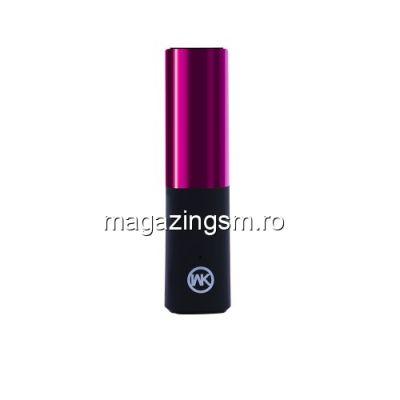 Acumulator Extern Huawei Samsung HTC Nokia iPhone BlackBerry Sony iPad iPod LG LEYOU Power Bank 2400mAh Lipstick Mov
