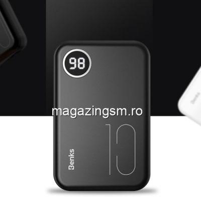 Acumulator Extern Sony Huawei Samsung iPhone Nokia Dual USB Power Bank 10000mAh Negru