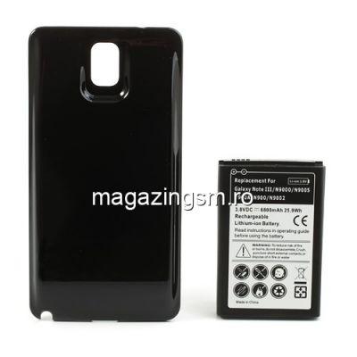 Acumulator Samsung Galaxy Note 3 N9005 N9000 N9002 Cu Capac Baterie Spate Negru