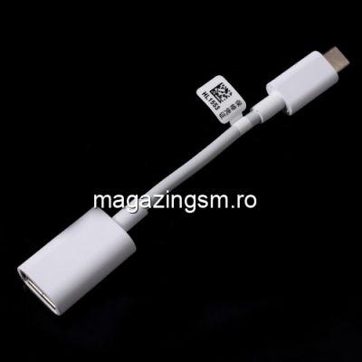 Adaptor USB Type-C - OTG USB Huawei Samsung Xiaomi Alb