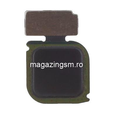 Banda Flex Buton Meniu Huawei P10 Lite / P8 Lite (2017) / Honor 8 Lite Negru