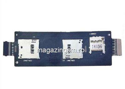 Banda Flex Cu Cititor Sim Si Card Asus Zenfone 2 ZE551ML Originala