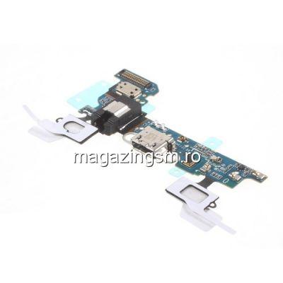 Banda Flex Cu Conector Incarcare Si Microfon Samsung Galaxy A3 SM-A300 Originala