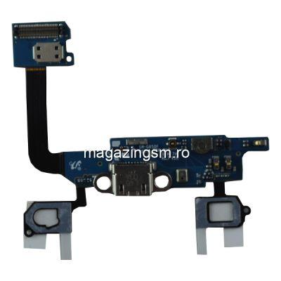 Banda Flex Cu Conector Incarcare Si Microfon Samsung Galaxy Alpha SM-G850F SM-G850T SM-G850M Originala