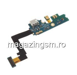 Banda Flex Cu Microfon Si Mufa Incarcare Samsung I9105 Galaxy S2 Plus