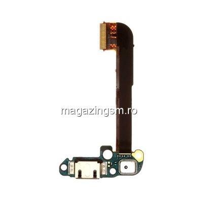 Banda Flex Cu Mufa Incarcare HTC One M7,801s