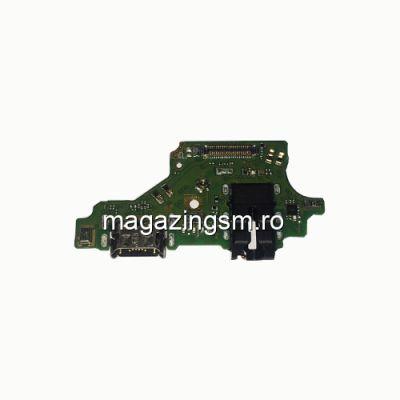Banda Flex Placa Circuit Conector Incarcare, Jack Audio Si Microfon Huawei P20 Lite