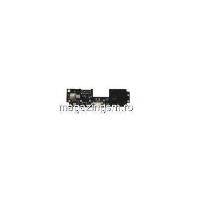 Banda Flex Placa Circuit Conector Incarcare Si Microfon Lenovo ZUK Z2 Originala