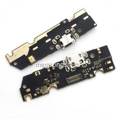 Banda Flex Placa Circuit Conector Incarcare Si Microfon Motorola Moto E5 Plus