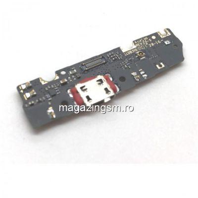 Banda Flex Placa Circuit Conector Incarcare Si Microfon Motorola Moto G6 Play