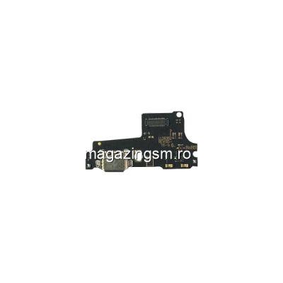 Banda Flex Placa Circuit Conector Incarcare Si Microfon Motorola Moto One P30 Play