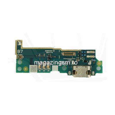 Banda Flex Placa Circuit Conector Incarcare Si Microfon Sony Xperia L1 G3311 G3312 G3313