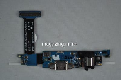 Banda Flex Samsung Galaxy S6 edge SM-G925F Cu Mufa Incarcare Si Jack Audio Originala