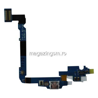Banda Flex Samsung Google Galaxy Nexus I9250 / Google Nexus 3 Cu Mufa De Incarcare Si Microfon
