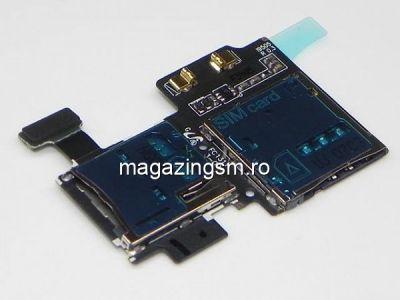 Banda Flex Slot Sim Si Cititor Card Samsung I9505 i9500 Galaxy S4 Originala