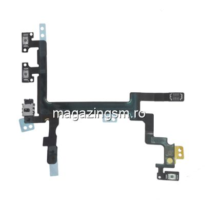 Banda iPhone 5 Volum , Buton Silent si On/Of Originala