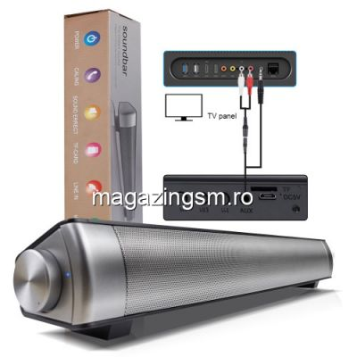 Boxa Portabila Cu Conexiune Bluetooth Wireless SoundBar