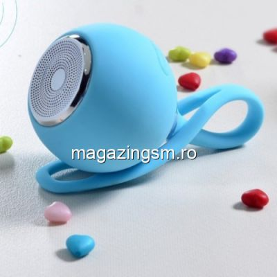 Boxa Portabila Cu Conexiune Wireless Bluetooth Samsung iPhone Allview Huawei Albastra