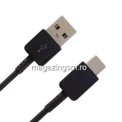 Cablu Incarcare Si Date Samsung LG Nokia HTC Type-C Negru