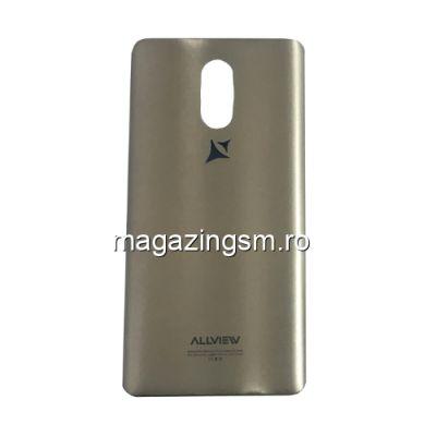 Capac Baterie Allview P8 Pro Original Auriu
