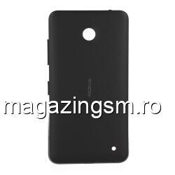 Capac Baterie Spate Nokia Lumia 630 Negru Original