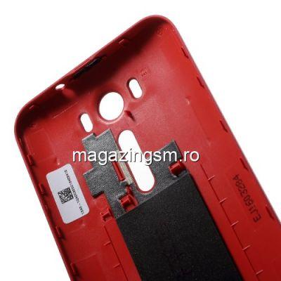 Capac Baterie Spate Asus Zenfone 2 Laser ZE500KG ZE500KL Original Rosu