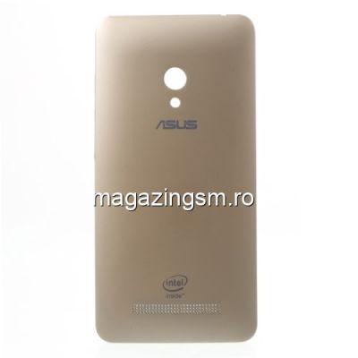 Capac Baterie Spate Asus Zenfone 5 Auriu