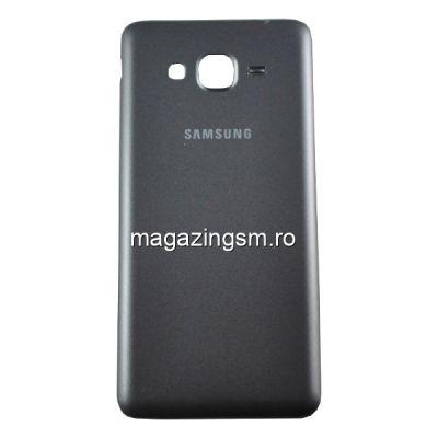 Capac Baterie Spate Samsung Galaxy Grand Prime VE SM-G531F Gri inchis/Negru