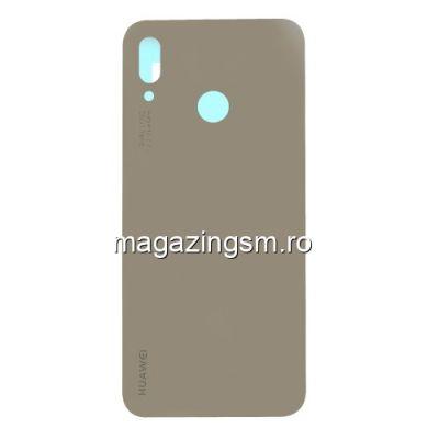 Capac Baterie Spate Cu Adeziv Sticker Huawei P20 Lite/Nova 3e Auriu