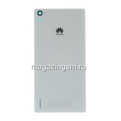 Capac Baterie Spate Huawei Ascend P7 Alb