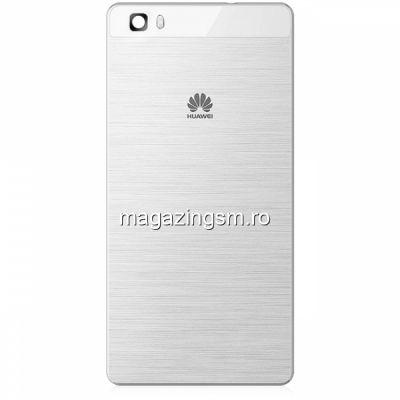 Capac Baterie Spate Huawei P8 Lite ALE-L21 Alb