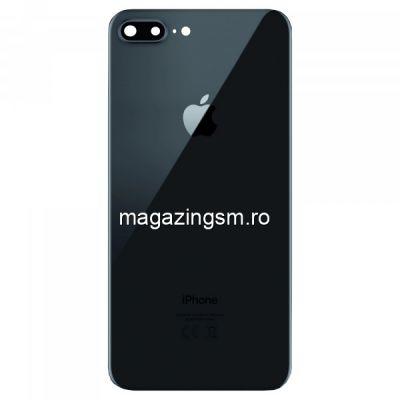 Capac Baterie Spate iPhone 8 Plus Negru