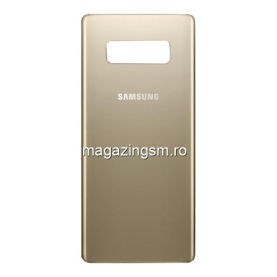 Capac Baterie Spate Samsung Galaxy Note 8 N950 Auriu
