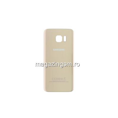 Capac Baterie Spate Samsung Galaxy S7 Edge G935 Gold