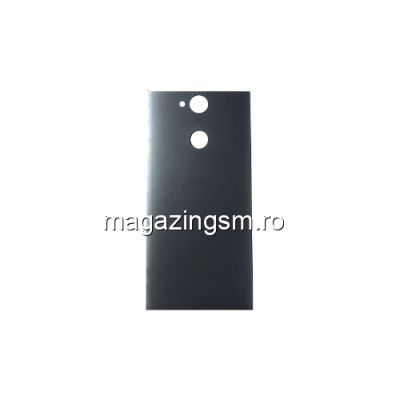 Capac Baterie Spate Sony Xperia XA2 Cu Adeziv Sticker Gri